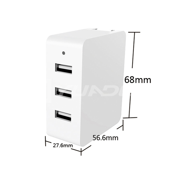 4500mah Power Bank Portable Charger three USB External Battery for Cell Phone 05