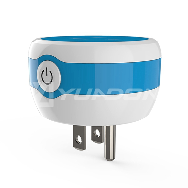 new designed colorful smart adapter American wifi smart plug Mini smart phone app control wifi plug