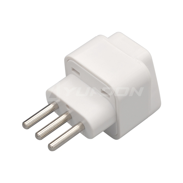 Universal to swiss Italy plug adapter 3-pin male plug Italy travel adapter best for travel accessories