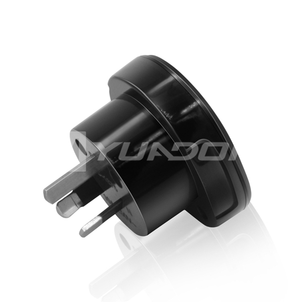 10A 240V Australian Plug Socket Adapter with SAA Certificate UK-US to Australia Power Adapter
