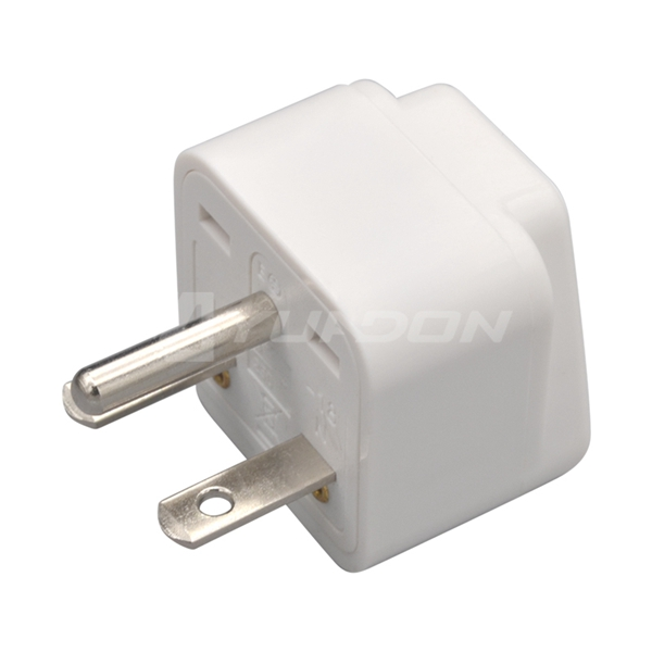 10A 250V American standard power plug travel adapter european to american plug adapter