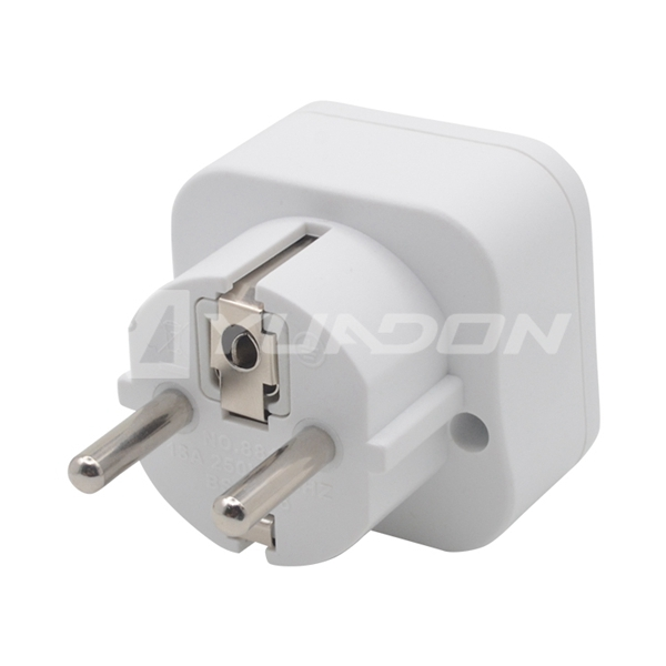 UK to Germany Schuko Plug Travel adapter