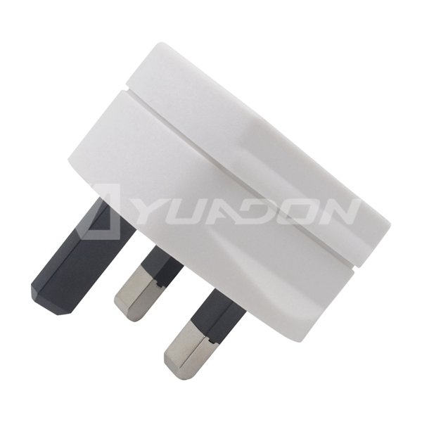 2 pin to 3 pin Malaysia Plug Travel adapter