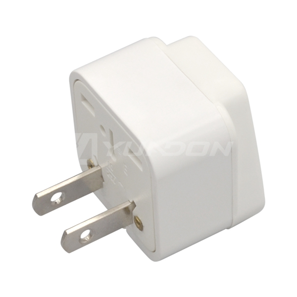 American 2 flat pin plug Mexico Japan travel adapter germany to usa adapter plug type B socket