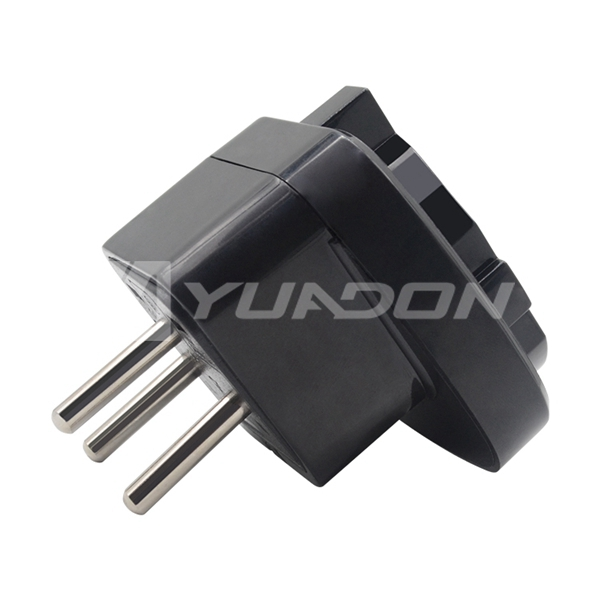3 round pins Israel plug Travel adapter