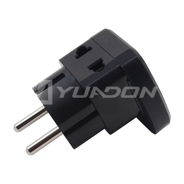 Multi-function Factory UK USA AU to EU european plug adapter universal to Schuko plug converter travel adapter