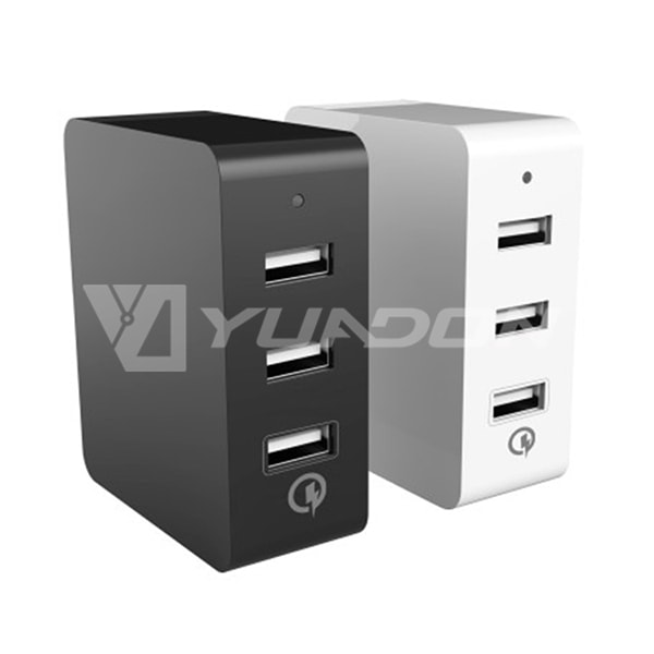 High Quality Professional on USB Smart Charge 3 Port Intelligent Quick Charge 04