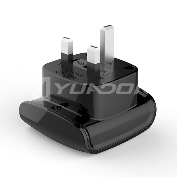 New Designed South Africa to UK Travel Adapter British 3 Pin Plug Adapter with 13A Fuse 04