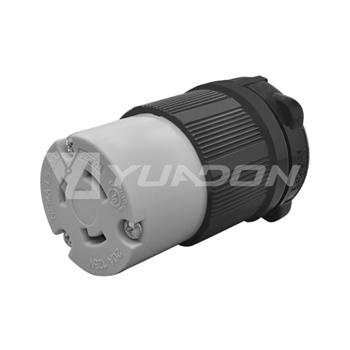 NEMA L5-20R 20A 125V Twist Lock Electrical Plug L5-20 Female Wall Receptacle