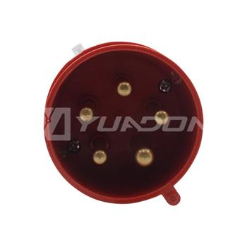 IP44 Industrial Plug 16A 32A 220-380 / 240-415v 5 Pin 015 025 Electric Industrial Waterproof Plug 05