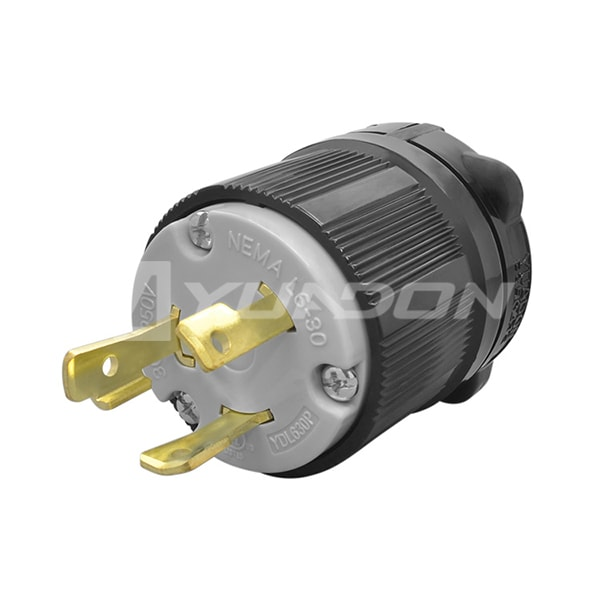 30 Amp Plug Manufacturers, Generator Power Locking NEMA L6-30P Twist-Lock Plug