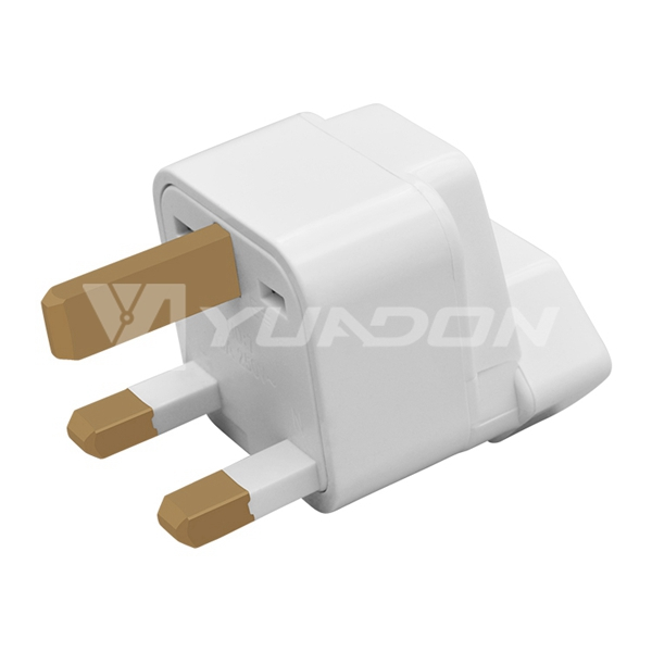 Brazil socket to UK power plug adapter