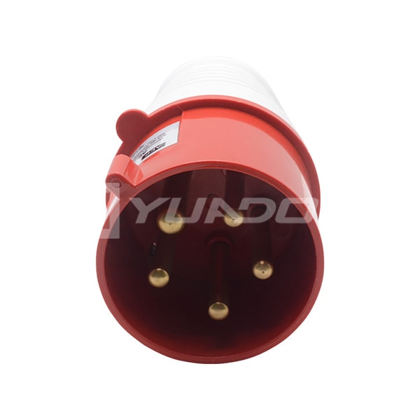 IP44 Industrial Plug 16A 32A 220-380 / 240-415v 5 Pin 015 025 Electric Industrial Waterproof Plug 04