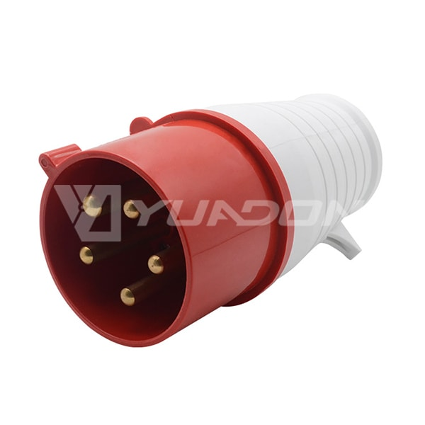 IP44 Industrial Plug 16A 32A 220-380 / 240-415v 5 Pin 015 025 Electric Industrial Waterproof Plug
