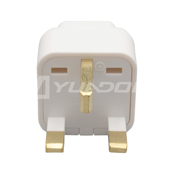 Universal AU US EU to UK 3 Pin AC Power Plug Travel Adapter Cyprus Adapter 03